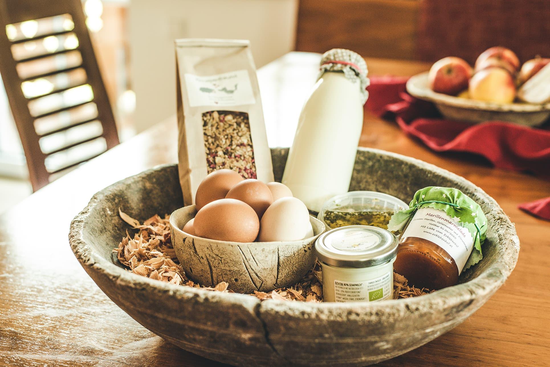 Biolandwirtschaft-Produkte aus Salzburg